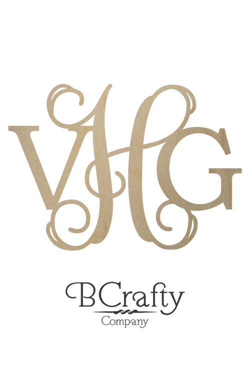 Diametric Wooden Monogram