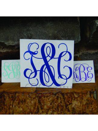 Vinyl Monograms