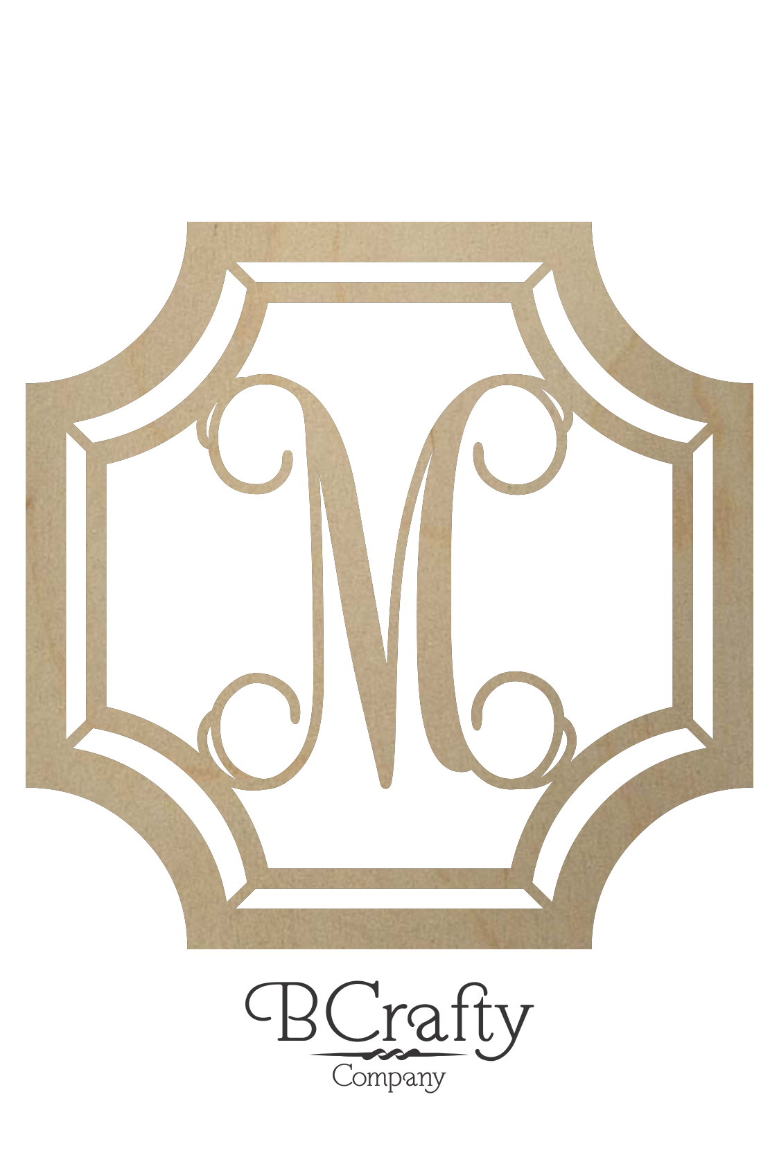 Gem Stone Monogram Wooden Letters Bcrafty Company
