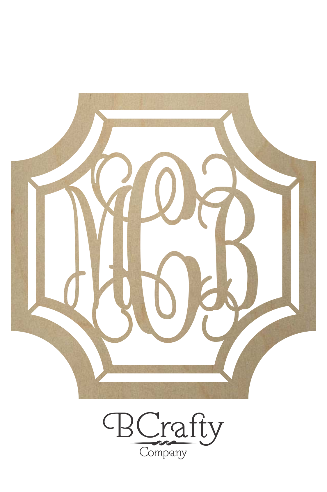 Gem Stone Monogram Wooden Letters Wooden Monogram Bcrafty