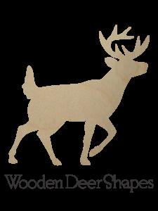 Wooden Deer Shapes