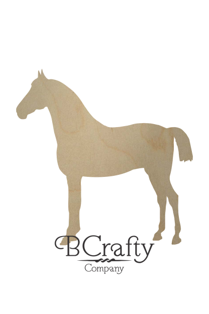 Wooden Horse Cutouts