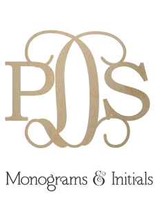 Monograms and Initials