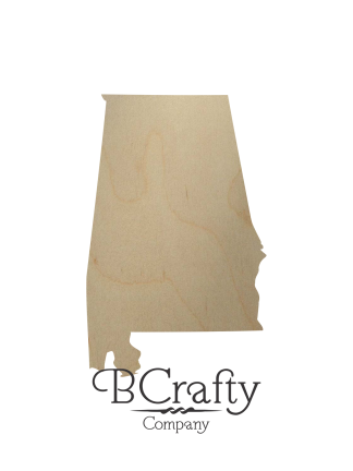 Wooden State Cutouts