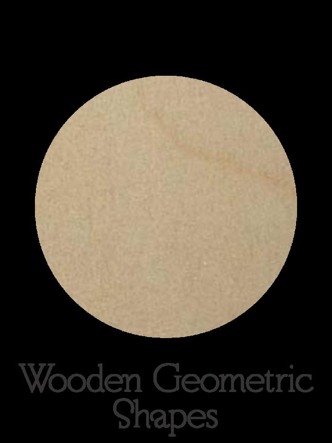 Wooden Geometric Shapes