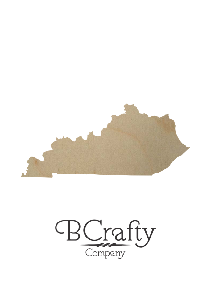 Wooden Kentucky Cutout Shape