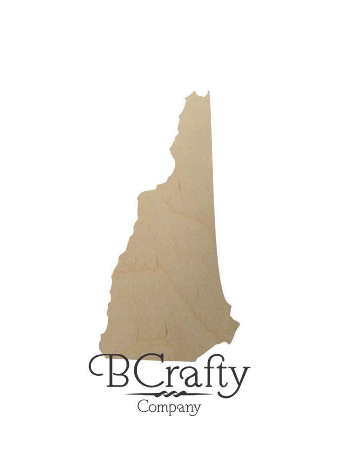 Wooden New Hampshire Cutout