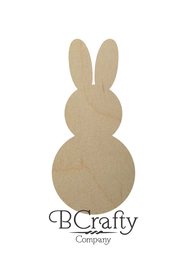 Wooden Bunny Cutouts