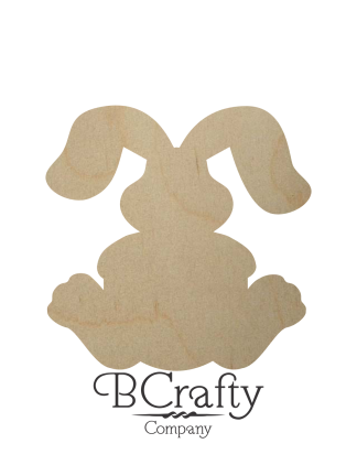 Wooden Bunny Shapes