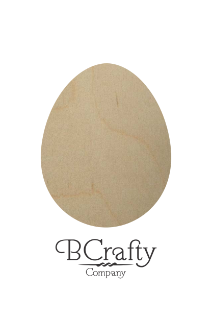 Wooden Egg Cutout