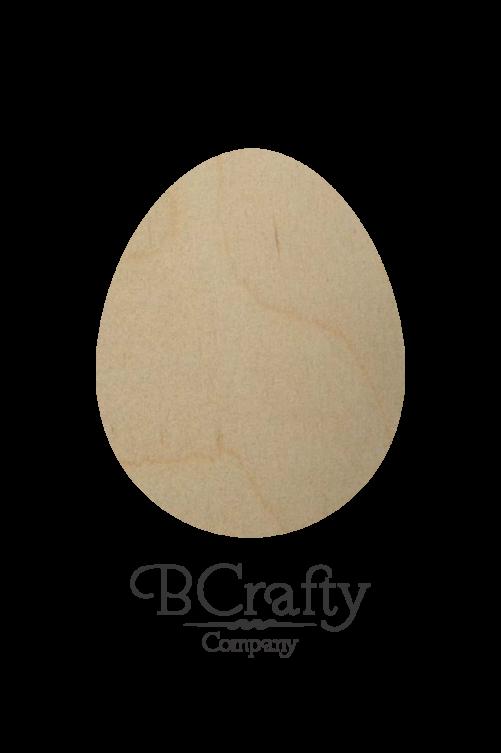 Wooden Egg Cutout