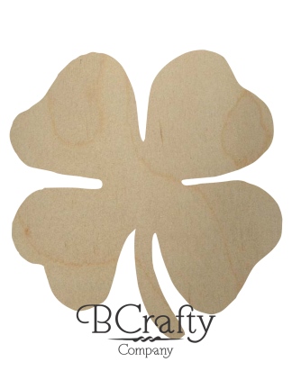 Wooden St Patricks Cutouts