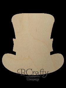Wooden Leprechaun Hat Cutout