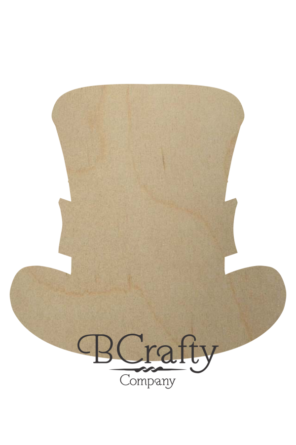 Wooden Leprechaun Hat Cutout