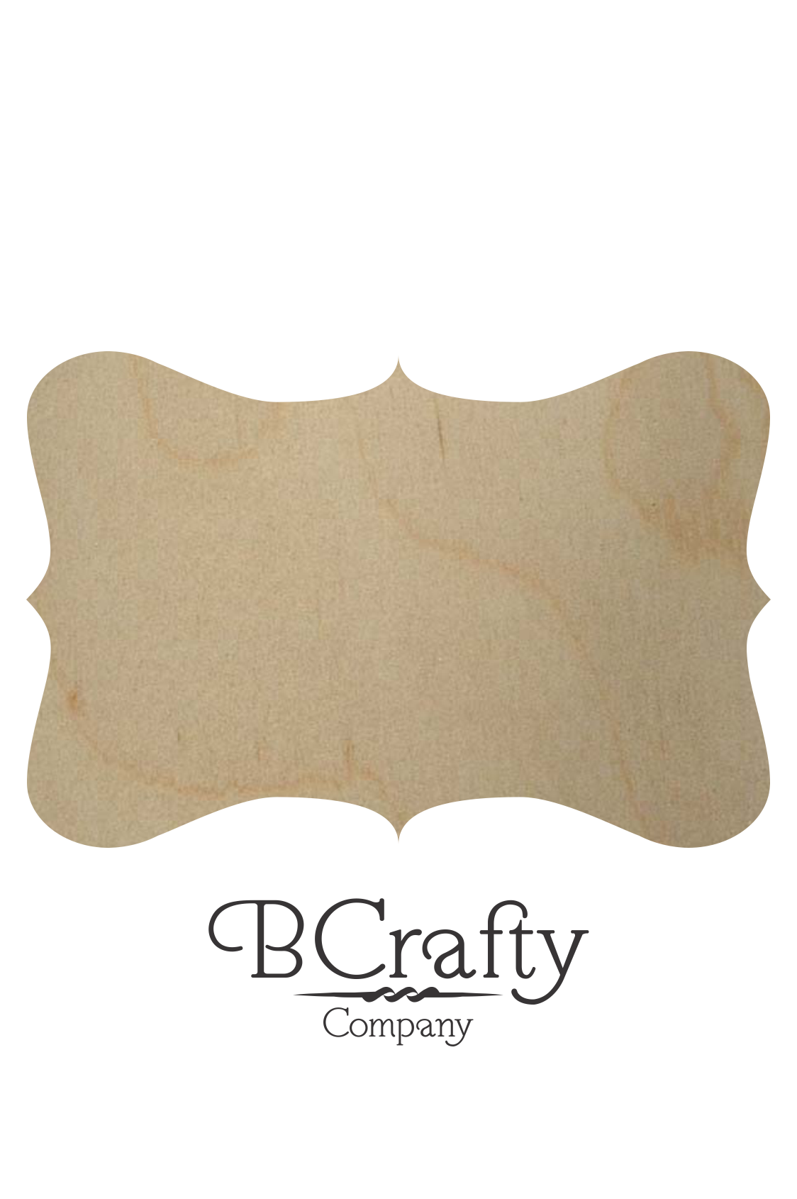 Wooden Plaque Shape