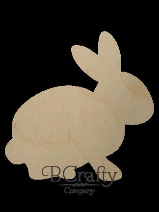 Wooden Rabbit Cutout