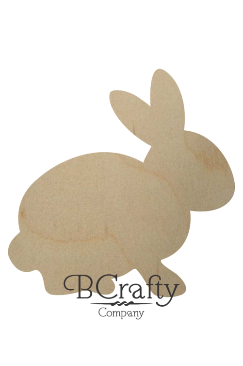 Wooden Rabbit Cutout