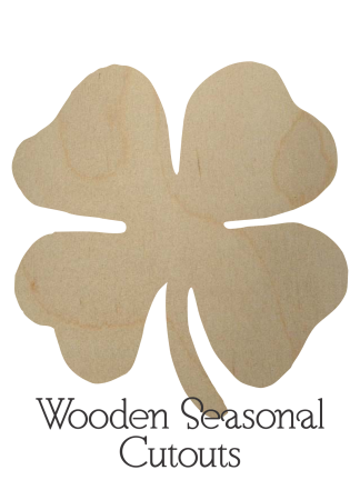 Wooden Seasonal Cutouts
