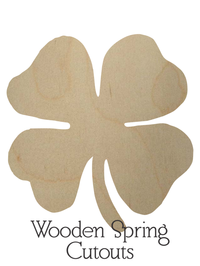 Wooden Spring Cutouts