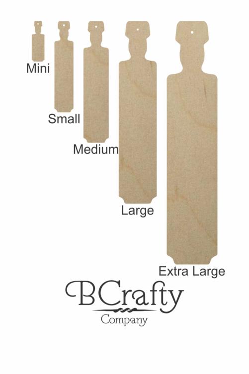 Blank Wooden Greek Paddles