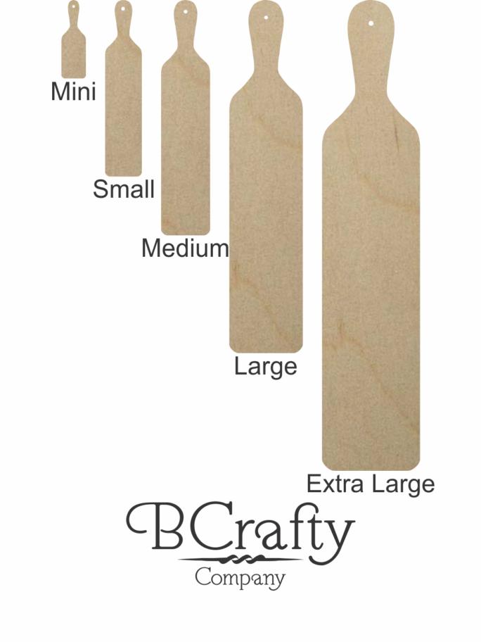 Wood Greek Paddles