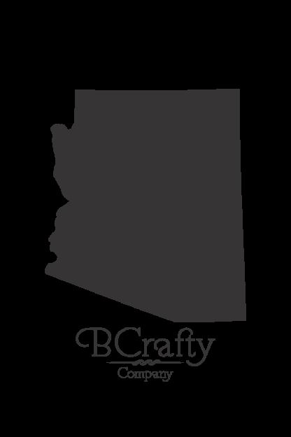 Acrylic Arizona State Blanks