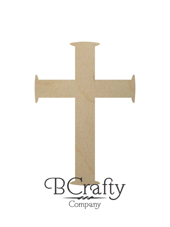 Wooden Cross Cutouts - Style 01
