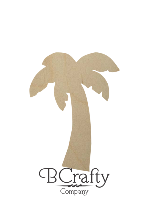 Wooden Palm Tree Cutout