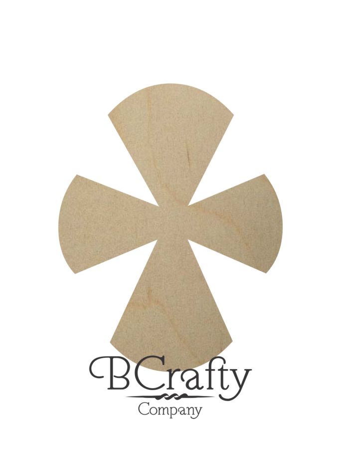 Unfinished Wooden Cross Shapes