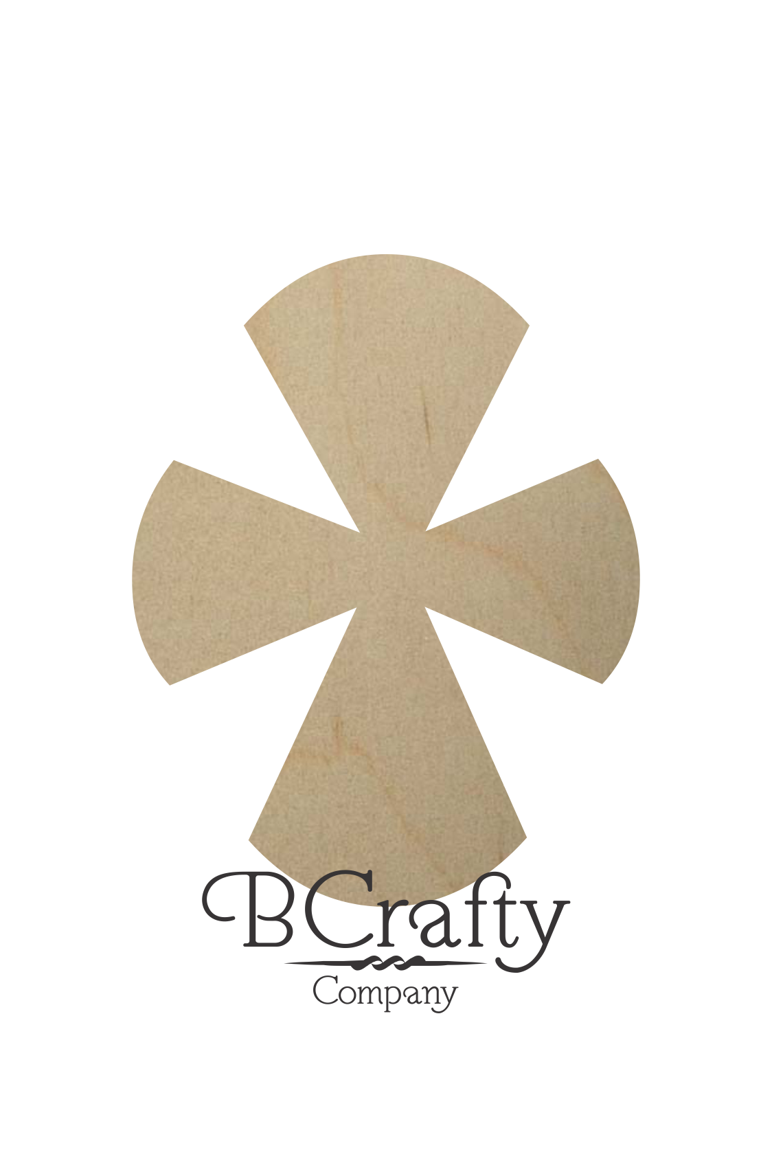Unfinished Wooden Cross Shapes Style3