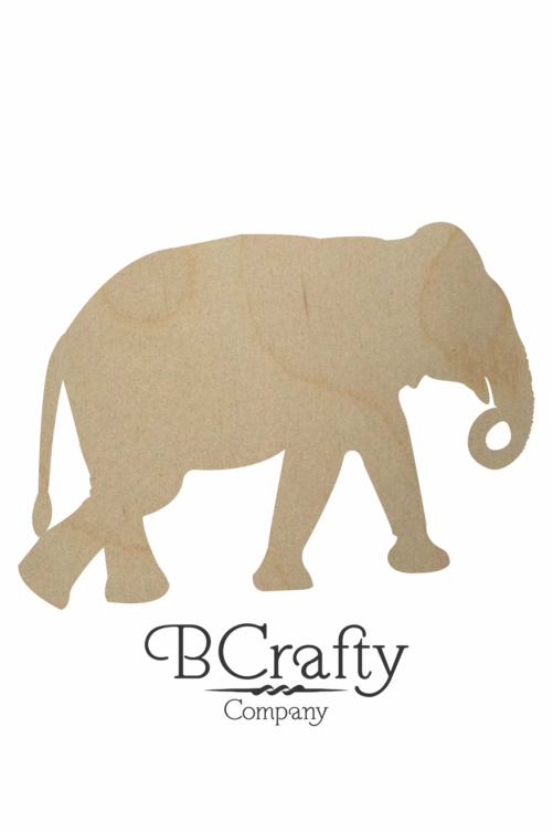 Wooden Elephant Shape