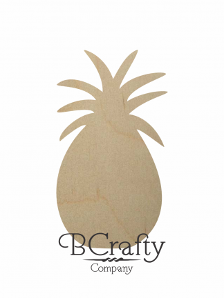Wooden Pineapple Cutouts