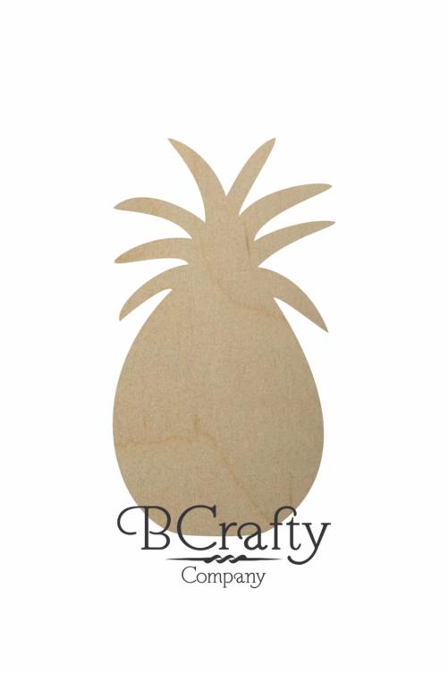 Wooden Pineapple Cutout