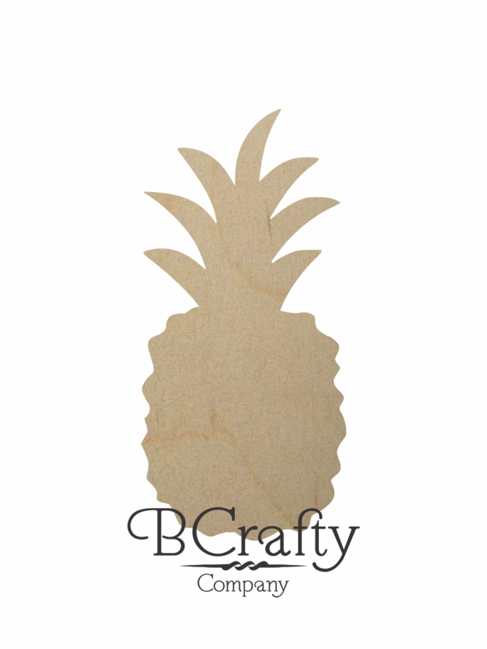 Wooden Pineapple Shape