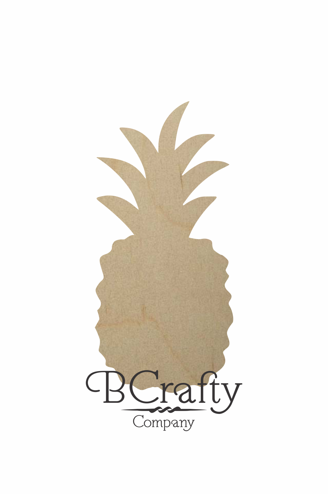 wooden pineapple shape by bcrafty company