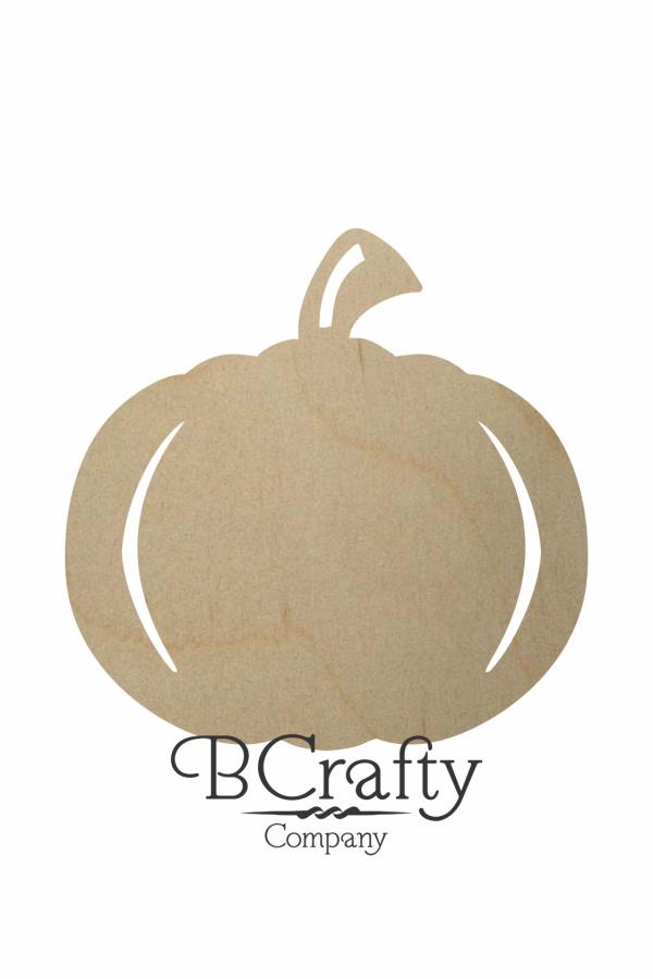 Wooden Pumpkin Cutouts