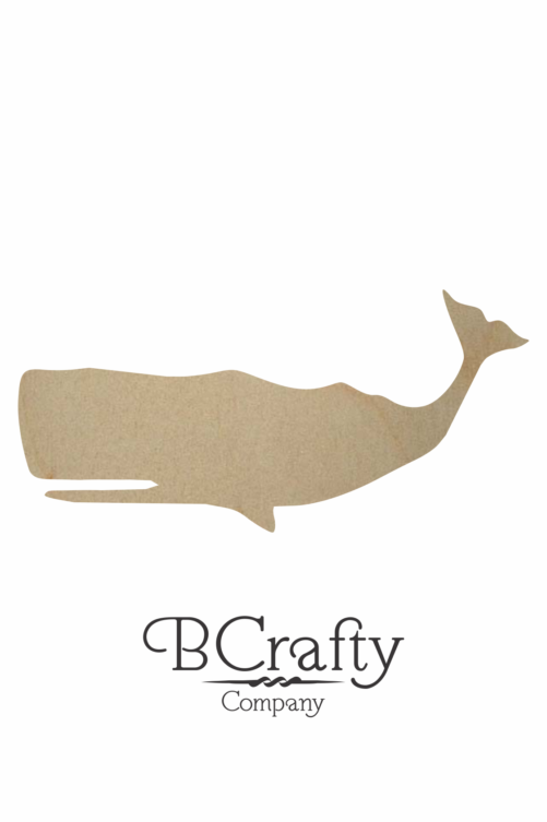 Wooden Whale Cutout