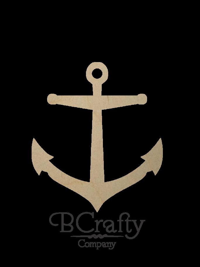 Wooden Anchor Cutout