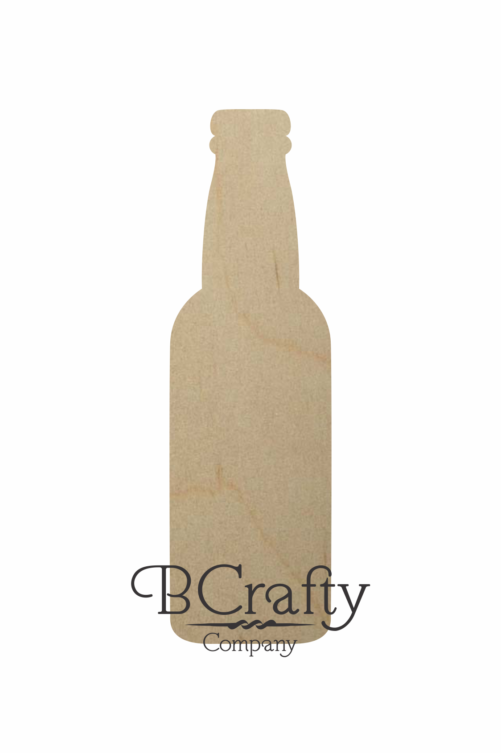 Wooden Beer Bottle Shape