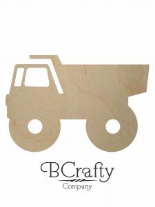 Wooden Dump Truck Cutout