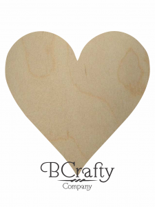 Wooden Heart Cutouts