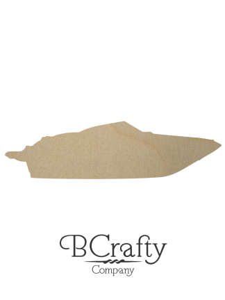 Wooden Motorboat Cutout