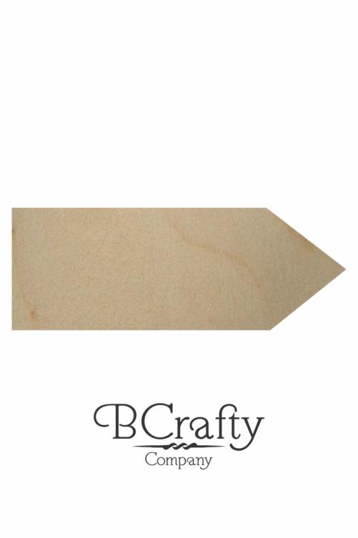 Wooden Pencil Cutout