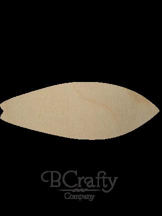 Wooden Surfboard Cutout