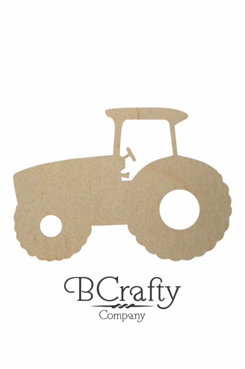 Wooden Tractor Cutout