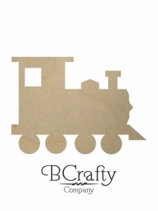 Wooden Train Cutout