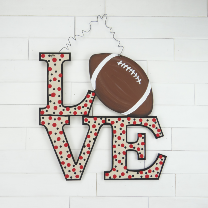 Stacked Love w Football