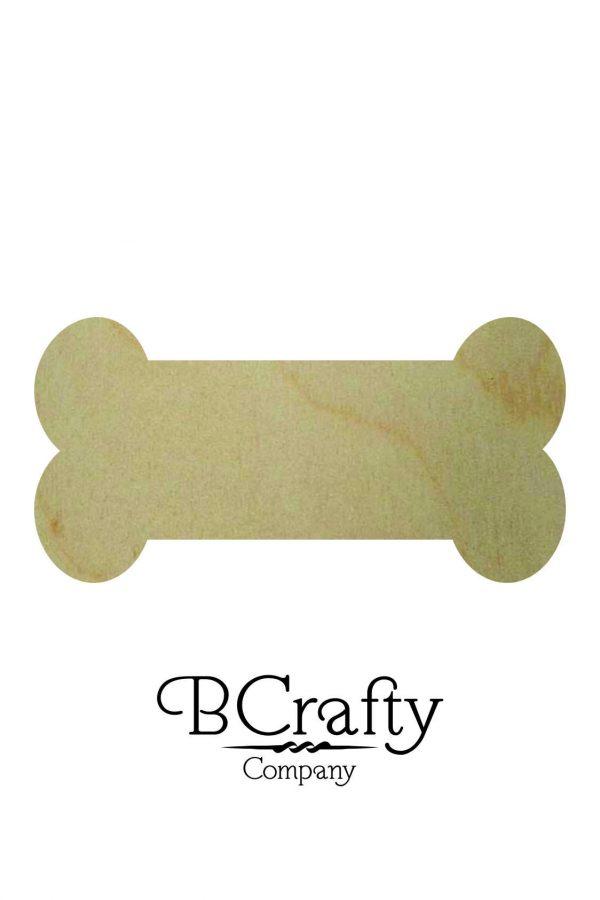 Wooden Bone Cutout