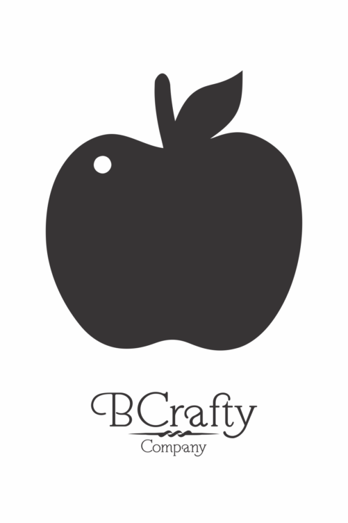 C1030023 Acrylic Apple Blank