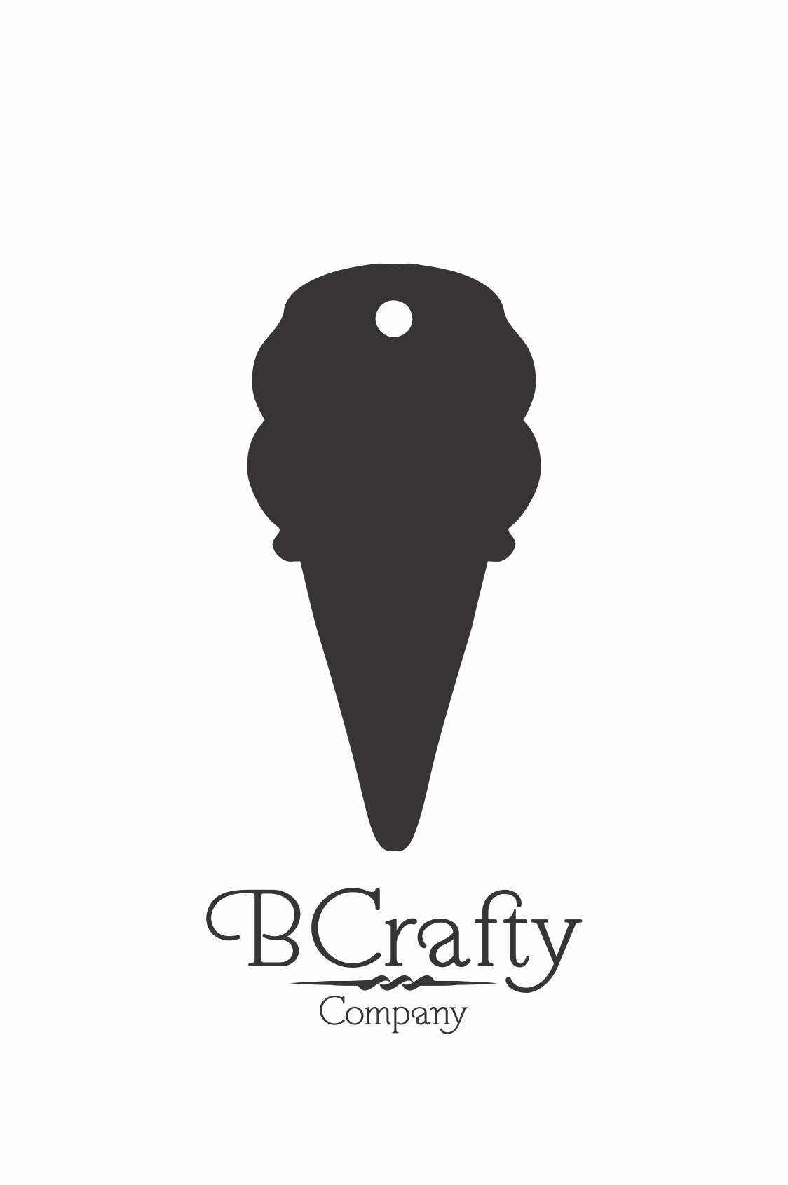 Acrylic Ice Cream Cone Blanks Acrylic Ice Cream Cone